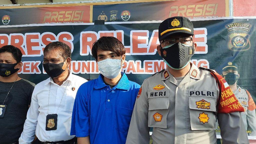 Buron 6 Bulan Kabur ke Yogya, Jambret Sadis Ditangkap di Palembang
