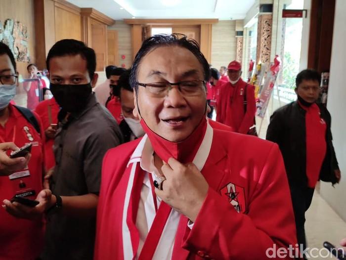 Ketua DPP PDIP Bidang Pemenangan Pemilu, Bambang Wuryanto, di Semarang, Selasa (23/3/2021).