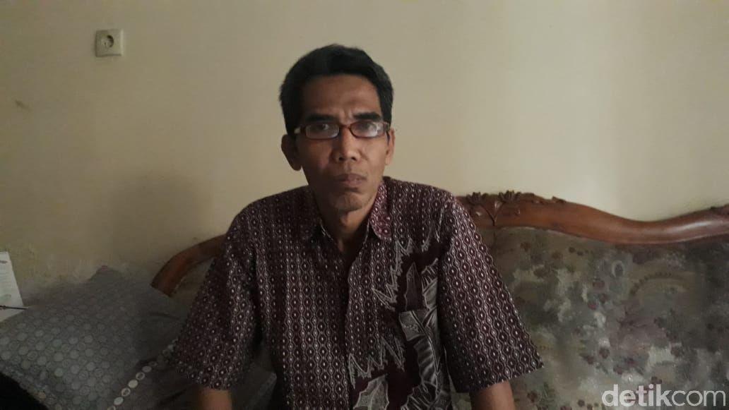 Ketua RT 02/RW 08 Kelurahan Tlogomas, Syaifudin. (M Olifiansyah/detikcom)