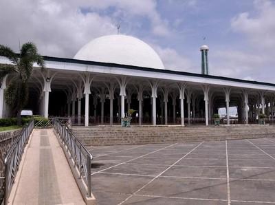 Masjid Seribu Tiang, Masjid Terbesar di Jambi