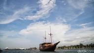 Trip ke Pulau Seribu Naik Kapal Phinisi Wajib Swab Antigen