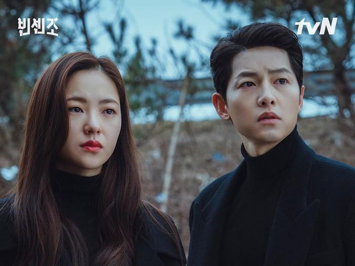 Profil para pemain drama Korea Vincenzo Foto: dok. tvN