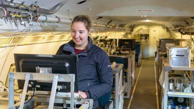 Pesawat BAe 146 Airborne Laboratory FAAM