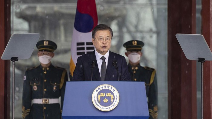 Presiden Korea Selatan Monn Jae In