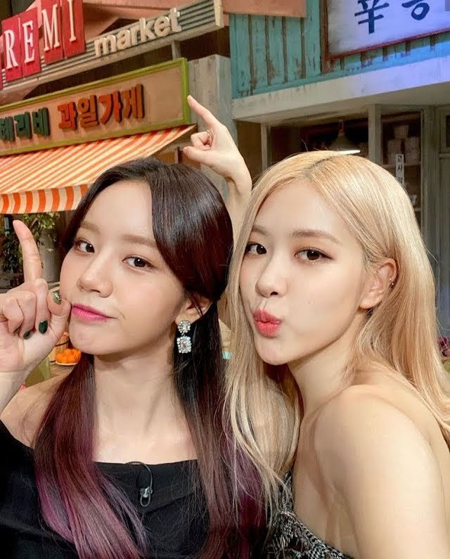 Lama Bersahabat, Rose BLACKPINK dan Hyeri Girl's Day Saling Traktir Makan