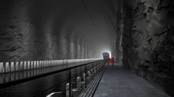 Biaya dalam pembangunan terowongan diperkirakan akan menghabiskan hingga USD 330 juta atau sekitar Rp 4,7 triliun. (The Norwegian Coastal Administration)