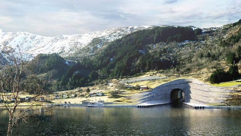 Norwegia sudah mendapat lampu hijau untuk membangun terowongan kapal pertama di dunia. Akses ini akan membantu traveler melewati laut stadhavet yang berbahaya!