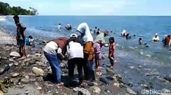 Dugaan Butiran Emas di Pantai Maluku Bikin Wabup Cek Asli atau Palsu
