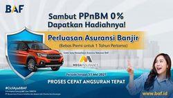 BAF dan Asuransi Umum Mega Berkolaborasi Sambut PPnBM 0%