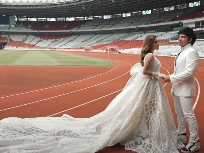 Atta Halilintar, Aurel Hermansyah prwedding
