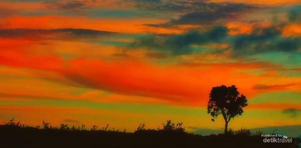 Sunset di Fatumnasi.