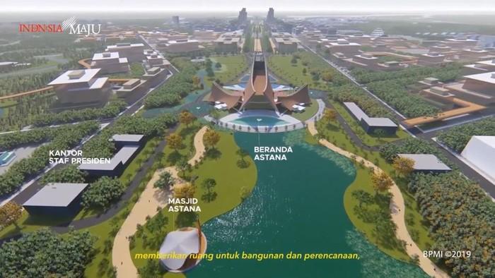 Desain Istana Presiden di Ibu Kota Baru