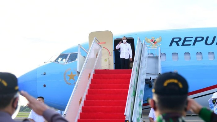Jokowi Bertolak ke Malut