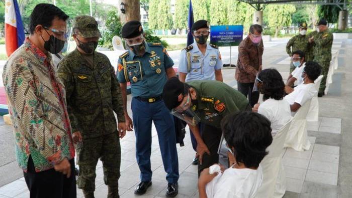 KBRI terima 4 WNI yang menjadi sandera kelompok teroris Abu Sayyaf (Dok Antara)