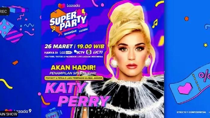 Lazada menginjak usia ke-9 tahun ini dan perayaannya mengundang sejumlah nama artis Indonesia sampai luar negeri. Di antaranya yang banyak ditunggung adalah Katy Perry sampai boyband K-Pop NCT Dream!