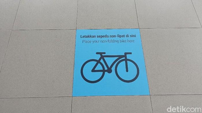 Marka sepeda nonlipat (Sachril Agustin/detikcom).