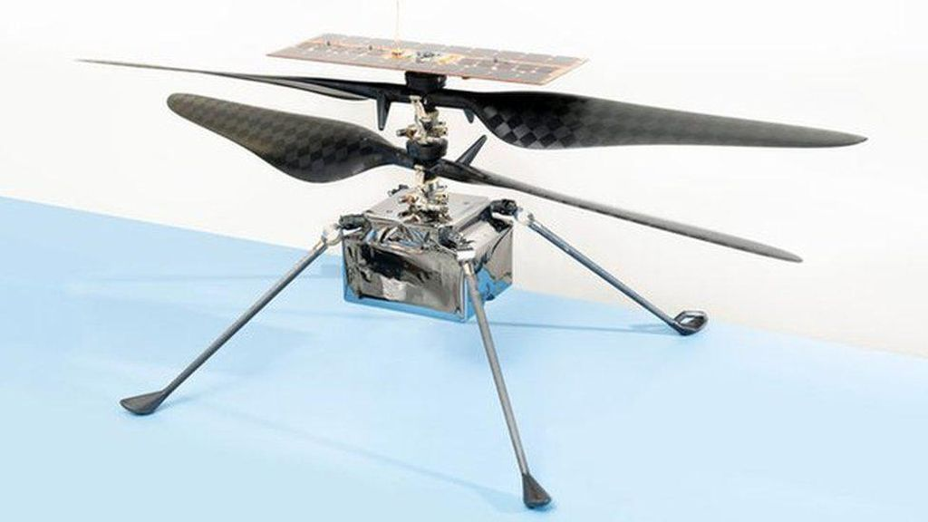 NASA Akan Terbangkan Helikopter di Planet Mars pada April