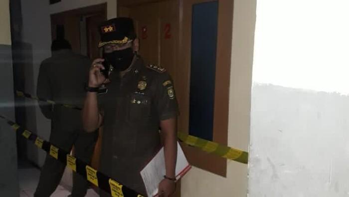 Satpol PP Tangerang Gerebek Indekos di Ciledug, 15 Muda-Mudi Diamankan. Foto dikirim narasumber