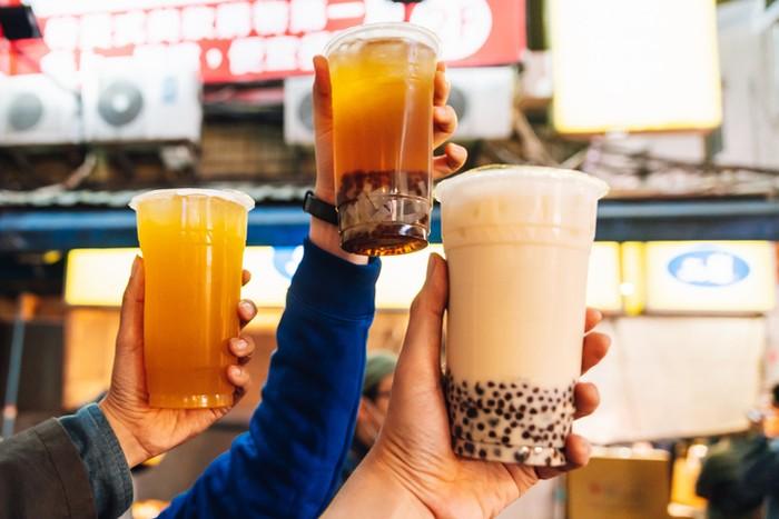 varian rasa bubble tea dan jumlah kalorinya