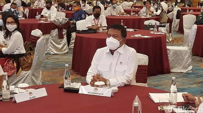 Wakil Menteri Pertahanan (Wamenhan) Letnan Jenderal TNI Muhammad Herindra.