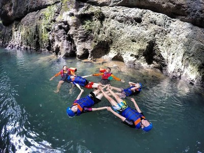 Body Rafting Menjelajah Sungai Ciwayang Pangandaran, Seru Gila!