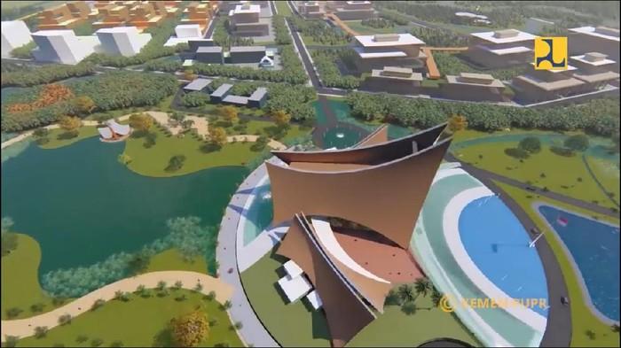 Desain Istana Negara di Ibu Kota Baru