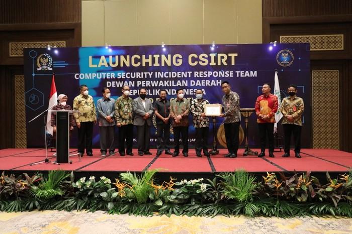 DPD RI Launching CSIRT