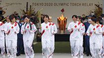 Estafet Obor Olimpiade Tokyo Dimulai di Tengah Pandemi