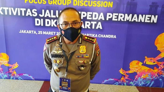 Dirlantas Polda Metro Jaya Kombes Sambodo Purnomo Yogo.