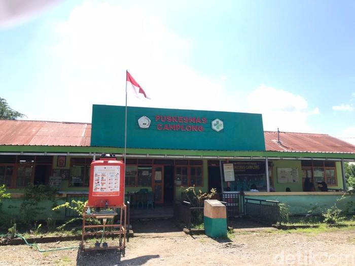 Kondisi Puskesmas Camplong di Kupang NTT, 25 Maret 2021. (Arni Sulistiawati/detikcom)