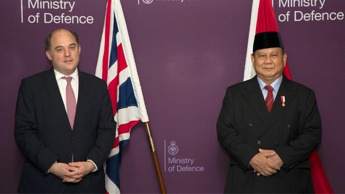 Menhan Prabowo Subianto (Dok. KBRI London).