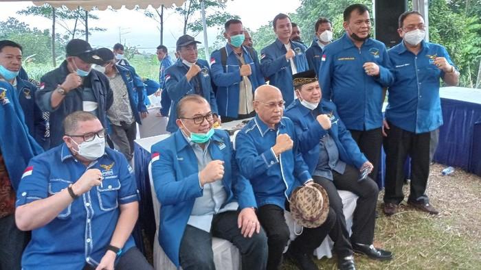 Partai Demokrat kubu Moeldoko (Foto: Sachril/detikcom)