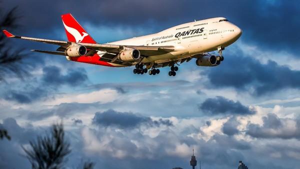 Qantas berada di posisi keempat. Maskapai ini pun mendapat penghargaan lounge bandara terbaik. Getty Images/Boeing746