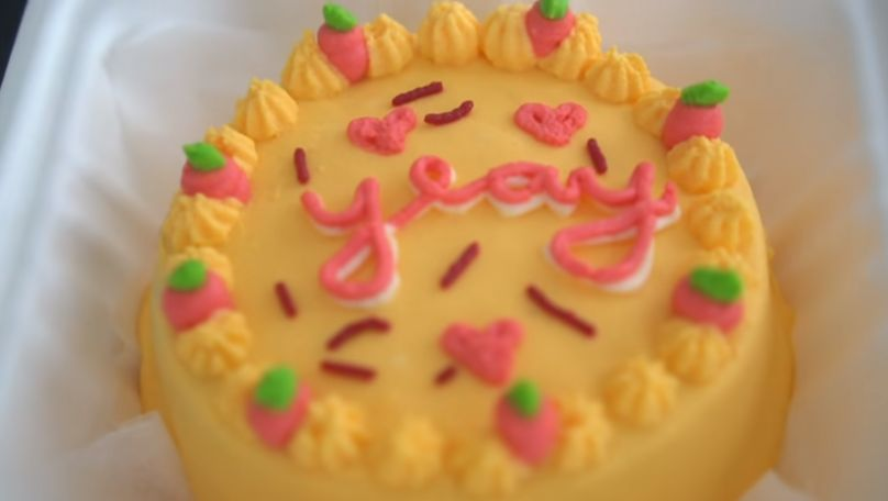 Resep Lunch Cake Box Korea ala YouTuber Jessica Jane