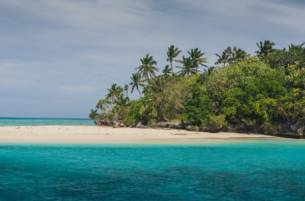 Dikelilingi Samudera Pasifik, Kerajaan Tonga tampil cantik dengan pasir putih dan pantai cantik. (Getty Images/iStockphoto)