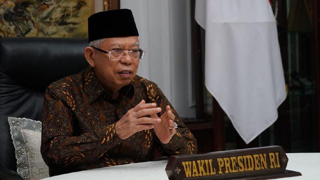 Maruf Amin Ungkap Indeks Demokrasi RI di Bawah Timor Leste