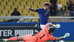 Immobile Akhirnya Cetak Gol Lagi untuk Italia