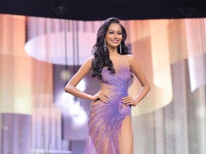 Wakil Indonesia Aurra Kharishma Jadi Runner-up 3 Miss Grand International