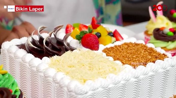 Bikin Laper! Anwar BAB dan DJ Katty Butterfly Cicip Cake dan Cookies Cantik