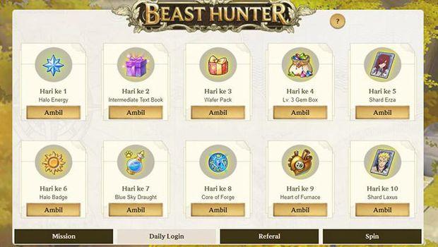 Dapatkan 1 Epic Magic Beast Setiap Hari dari Event Beast Hunter di FAIRY TAIL: Forces Unite!