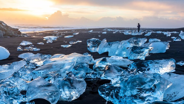 Diamond Beach  di Islandia