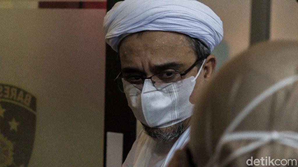 Habib Rizieq Salat Id di Rutan Mabes Polri dalam Kondisi Sehat