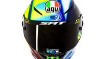 Transisi Siang-Malam di Helm Valentino Rossi