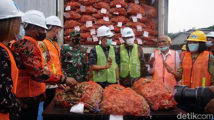 jahe impor asal myanmar dan india