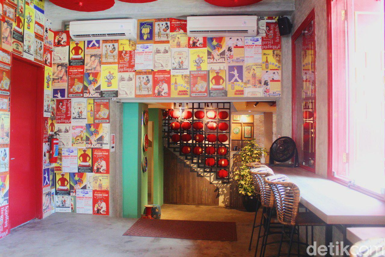 Kapitan Lim: Tempat Makan Oriental Artistik di Tengah Keramaian Tanah Abang