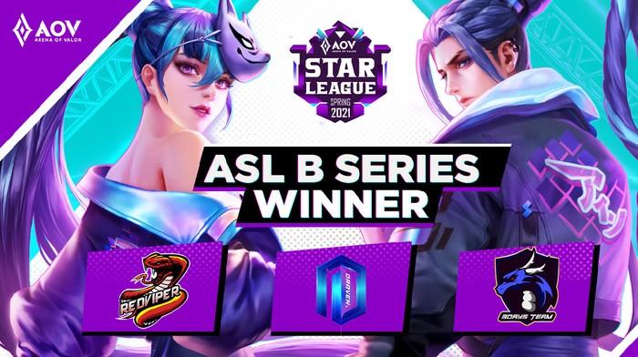 Lolos ke ASL Spring 2021, Inilah 3 Tim Terbaik dari Turnamen ASL B Series 2021