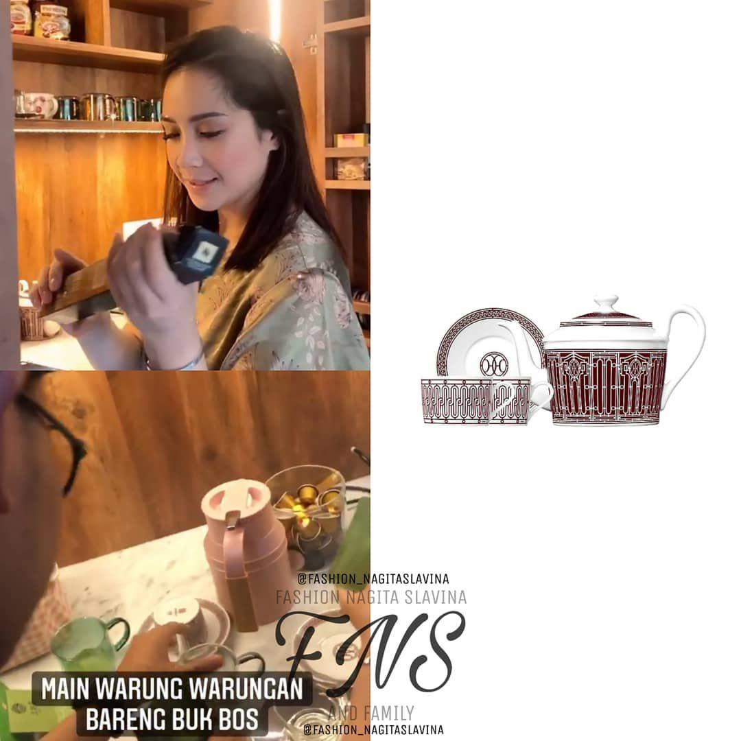 Nagita Slavina Punya Tea Set Hermès Rp 12 Juta, Netizen: Minum Pakai Motor Beat!