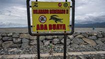 Ngeri! Pantai Wisata di Palu Jadi Habitat Buaya