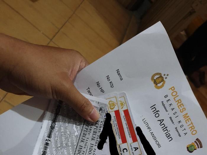 Pelayanan perpanjang SIM malam hari di Polres Metro Bekasi