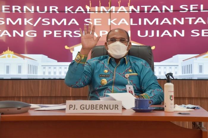 Penjabat Gubernur Kalsel, Safrizal. (M Risanta/detikcom)